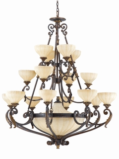 32765 Triarch International 16 Light The Venus Entry Chandelier