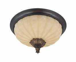 32766-18 Triarch International 3 Light The Venus Flush Mount (Medium)