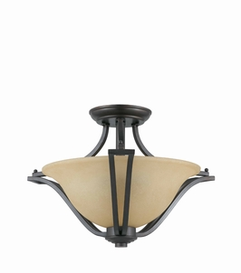 32781 Triarch International 2 Light The Greco Semi-Flush Mount Convertible