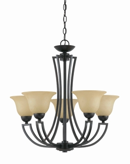 32783 Triarch International 5 Light The Greco Chandelier