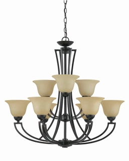 32784 Triarch International 9 Light The Greco Chandelier
