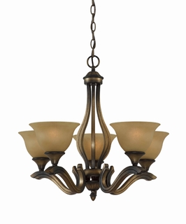33233 Triarch International 5 Light The Value Series 230 Chandelier