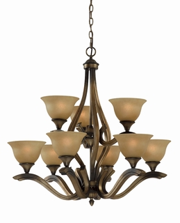 33234 Triarch International 9 Light The Value Series 230 Chandelier