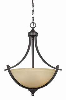 33242 Triarch International 3 Light Value Series Pendant