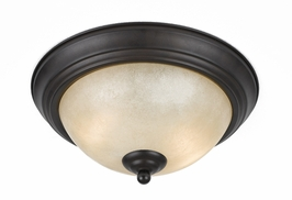 33246 Triarch International 2 Light Value Series Flush