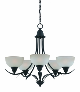 33263 Triarch International 5 Light Value Series Chandelier