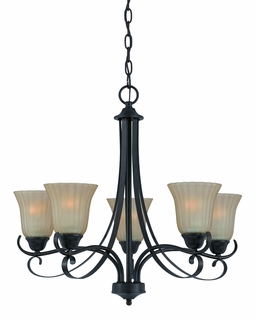 33273 Triarch International 5 Light Value Series Chandelier