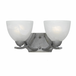 33280/2-Os Triarch International 2 Light Value Series Bath Vanity