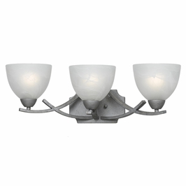 33280/3-Os Triarch International 3 Light Value Series Bath Vanity