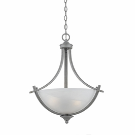 33282-Os Triarch International 3 Light Value Series Pendant