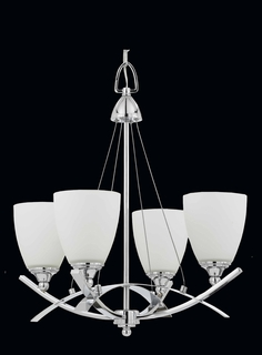 40108 Triarch International 4 Light Neptune Chandelier