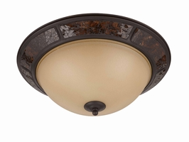 60106 Triarch International 3 Light Flush Mount