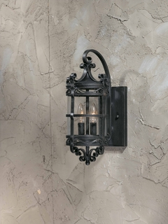 75300-10 Triarch International 2 Light Outdoor Sorrento Wall Mount