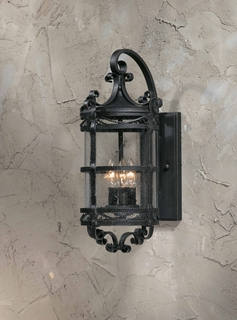 75301-10 Triarch International 3 Light Outdoor Sorrento Wall Mount