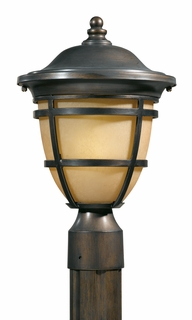78195-14 Triarch International 1 Light Outdoor Post Head