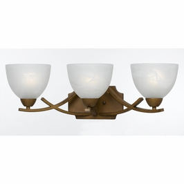 88280/3-Ag Triarch International 3 Light Bath Vanity