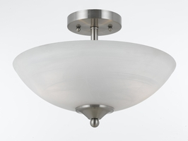 88291 Triarch International 2 Light  Semi Flush
