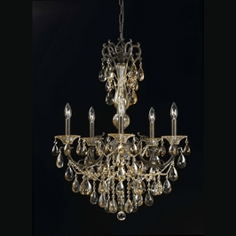 9021-Eb Triarch International 5 Light Visari 5 Lt Chandelier