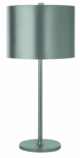 Bt7100-S Trend Lighting 1 Light Pure Table Lamp In Metallic Silver (DISCONTINUED PRODUCT)
