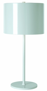 Bt7100-W Trend Lighting 1 Light Pure Table Lamp In Pure White (DISCONTINUED PRODUCT)