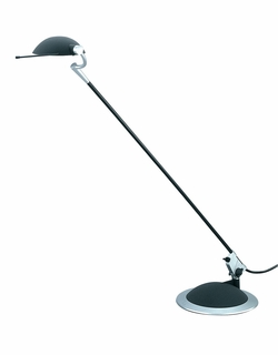 Td560-07 Trend Lighting 1 Light Braccino Desk Lamp In Black (DISCONTINUED PRODUCT)