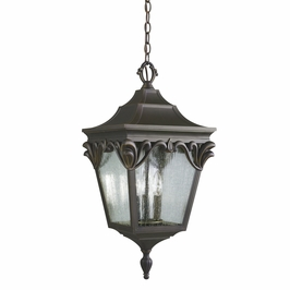 9987rz Kichler Henshaw Outdoor Ceiling in Rubbed Bronze (DISCONTINUED ITEM!)