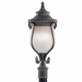 9995ack Kichler Rochelle Outdoor Post Lantern in Antique Crackle (DISCONTINUED ITEM!)