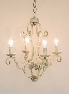 AFL5437-4H-R AF Lighting Aviary Mini Chandelier (CLEARANCE ITEM)