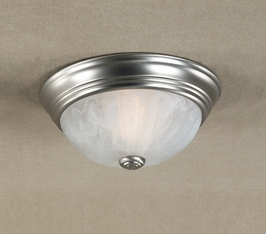 AL182ES-R Quoizel Lighting Alabaster (CLEARANCE ITEM)