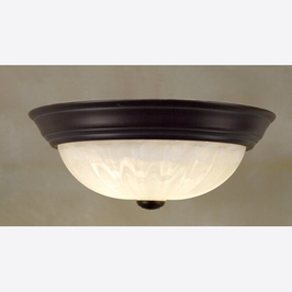 AL183Z-R Quoizel Lighting Flush Light (CLEARANCE ITEM)