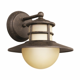 49027AGZ Kichler Outdoor Wall Bracket 1 Light Incan (DISCONTINUED ITEM!)