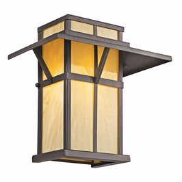 49046AZ Kichler Lodge-Country-Rustic-Garden Booth Bay 1 Light Outdoor Wall Mount (DISCONTINUED ITEM!)