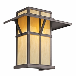 49047AZ Kichler Lodge-Country-Rustic-Garden Booth Bay 1 Light Outdoor Wall Sconce (DISCONTINUED ITEM!)