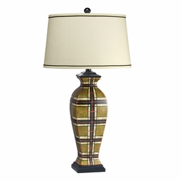 70662 Kichler Camel Table Lamp 1Lt Malcolm Table Lamp (DISCONTINUED ITEM!)