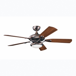 300014OBB Kichler Oil Brushed Bronze 52 Inch Aldrin Fan Aldrin Fans (DISCONTINUED ITEM!)
