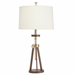 70862AB Kichler Westwood Trivet Adjustable Table Lamp