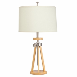 70862NI Kichler Brushed Nickel Adjustable Table Lamp Trivet Table Lamp (DISCONTINUED ITEM!)