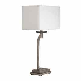 70863 Kichler Champagne Mist Table Lamp 1Lt Portable Darian Table Lamp (DISCONTINUED ITEM!)