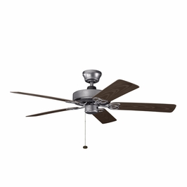 339520WSP Kichler Builder 52 Inch Sterling Manor Patio Fan (DISCONTINUED ITEM!)