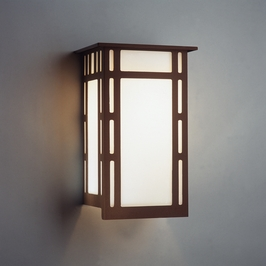 9010 Ultralights Lighting Luz Azul 16-Inch Wall Sconce