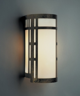 9114L12 Ultralights Lighting Luz Azul 12-Inch Cylinder Wall Sconce