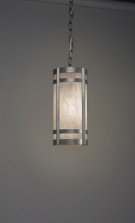9133 Ultralights Lighting Classics Full Cylinder Hanging Pendant with Adjustable Chain
