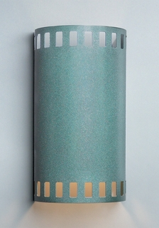 9262 Ultralights Lighting Luz Azul Cylinder Wall Sconce