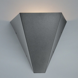 9264 Ultralights Lighting Luz Azul V-Shaped Wall Sconce