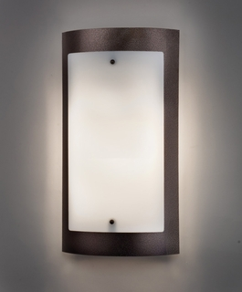 9318 Ultralights Lighting Luz Azul 18-Inch Wall Sconce