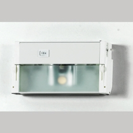 UC1108W Quoizel Lighting Counter Effect Undercabinet Lighting with White Lustre Finish