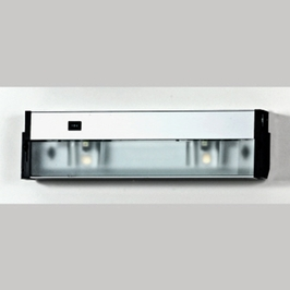 UC1116SS Quoizel Counter Effect Stainless Steel (2) Light Undercabinet Lighting