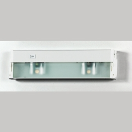 UC1116W Quoizel Counter Effect White Lustre (2) Light Undercabinet Lighting