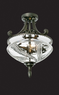 136-539-16-00 Waterford Lighting Olympia Flush Mount