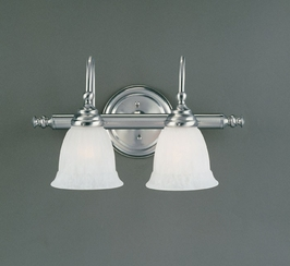 1062-2SN Savoy House Two-Light Bathroom Wall Sconce Light with Satin Nickel Finish